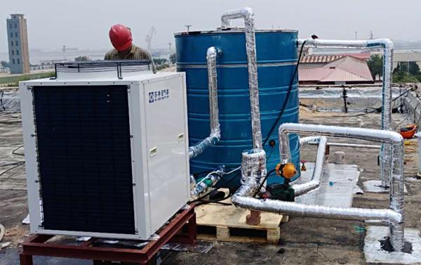 东营港海洋应急中心2吨热水